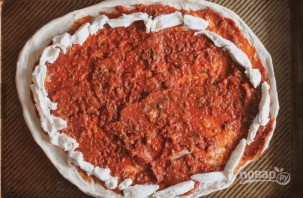 "Пицца ""Болоньезе"" - фото шаг 6"