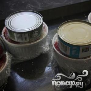 Ягодные пудинги - фото шаг 6