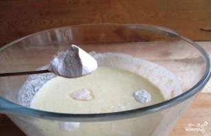 Вишневый пирог с заливкой - фото шаг 9