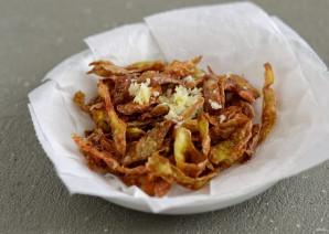 Чипсы из картофельных очисток - фото шаг 5