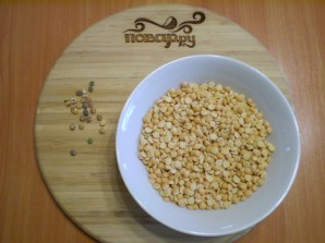 Гороховый суп без копченостей - фото шаг 2