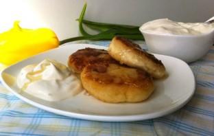 Вегетарианские сырники без яиц - фото шаг 8