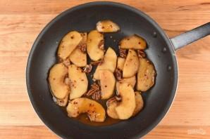 Свиная отбивная с яблоками - фото шаг 5