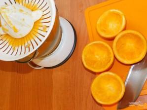 Клубнично-апельсиновый коктейль с имбирем - фото шаг 3