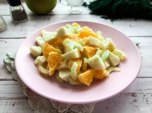 Салат с сельдереем и апельсином - фото шаг 7