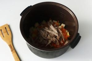 Детский суп в мультиварке - фото шаг 7