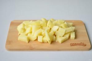 Щи со свежей капустой и фасолью - фото шаг 3