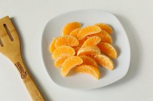 Пирог с мандаринами на кефире - фото шаг 2