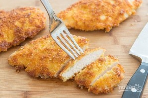 Куриное филе в сырной панировке - фото шаг 6
