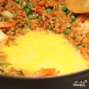 Креветки с рисом - фото шаг 9