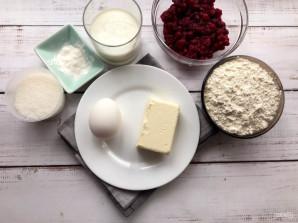 Кексы с красной смородиной - фото шаг 1