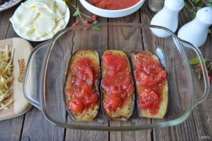 Лазанья из баклажанов с сыром - фото шаг 6