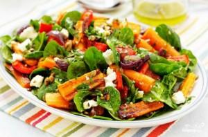 Салат с жареной морковью - фото шаг 9
