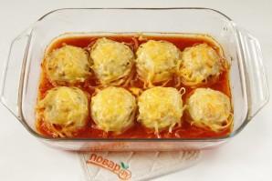 Тальятелле под сыром в томатном соусе - фото шаг 7