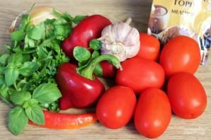 Зимняя заготовка для соуса болоньезе  - фото шаг 1
