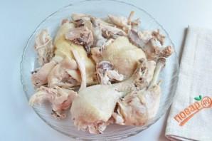Холодец из куриных окорочков - фото шаг 5