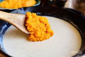 Макароны с сыром и тыквой - фото шаг 3