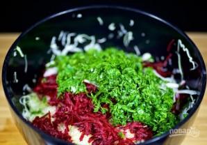 Салат из свеклы и капусты - фото шаг 4