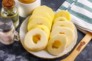 Жареные яблочные кольца - фото шаг 5