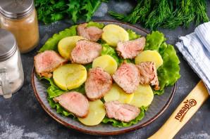 Салат с ростбифом - фото шаг 3