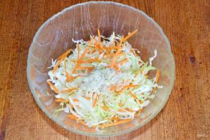 Заправка для салата из капусты с морковью - фото шаг 7