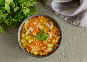 Суп с полбой - фото шаг 7