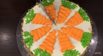 Простой рецепт морковного торта - фото шаг 6