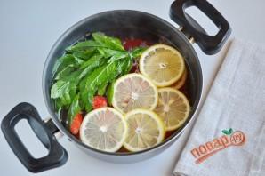 Домашний клубничный лимонад с мятой - фото шаг 5