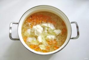 Суп из индейки с цветной капустой - фото шаг 5