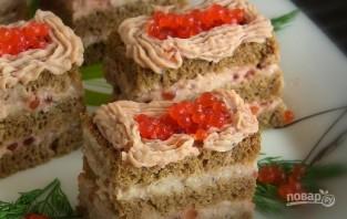 Закусочные пирожные из сельди - фото шаг 7