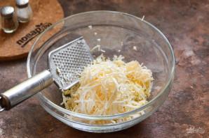Салат с плавленым сыром - фото шаг 4