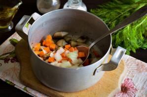 Грибной холодный суп на воде - фото шаг 4