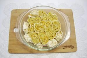 Пирог из лаваша с капустой - фото шаг 10