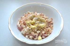 Рубленые куриные котлеты с грибами - фото шаг 6