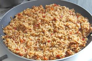 Жареный рис со свининой - фото шаг 9