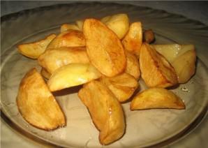 Картофель по-деревенски во фритюрнице - фото шаг 5