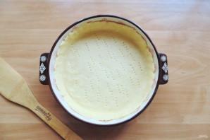 Киш с брокколи и шпинатом - фото шаг 7