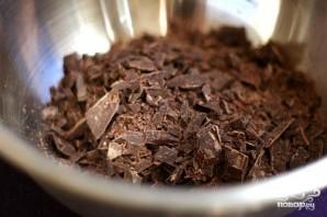 Шоколадный пирог с глазурью - фото шаг 1