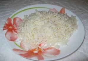 Рис с курицей и грибами   - фото шаг 3