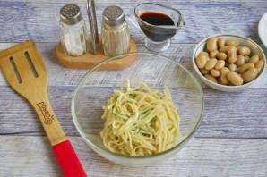 Говядина с лапшой и фасолью - фото шаг 2
