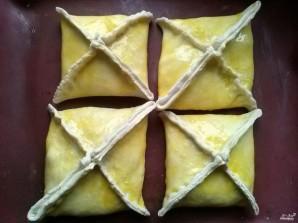 Пирог из слоеного теста с капустой - фото шаг 5