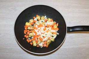 Рис с курицей и фасолью - фото шаг 6