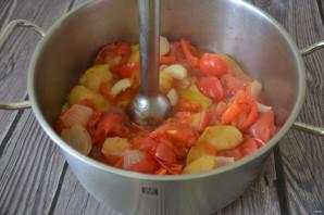 Кетчуп из помидоров и яблок на зиму - фото шаг 4
