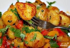 Картофель в казане - фото шаг 12