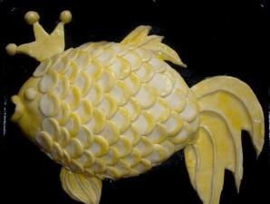 Пирог в виде рыбы - фото шаг 3
