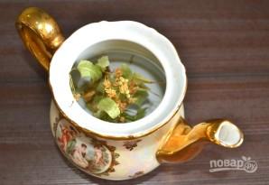 Липовый чай с медом - фото шаг 2