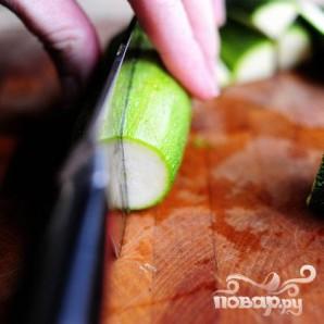 Паста салат с помидорами, цукини, и сыром Фета - фото шаг 3