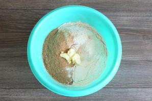 Хлеб из цельнозерновой муки и отрубей