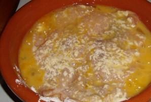 Мясо в сырной панировке - фото шаг 3