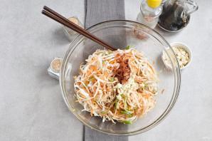 Салат с рисовой лапшой - фото шаг 8